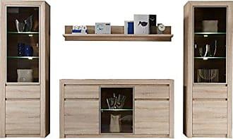 Trendteam Wohnzimmer 4 Teilige Set Kombination Sevilla, 312 X 200 X 51 Cm In
