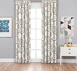 Ellery Homestyles KOZDIKO Eclipse Suzi Thermaback Blackout Window Curtain, 42 x 63, Neutral