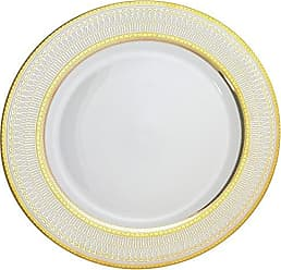 10 Strawberry Street Iriana 12 Charger/Buffet Plate, Set of 6, Gold
