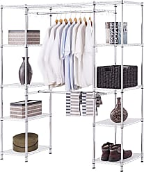 Costway Expandable Free Standing Closet Clothes Hanger Rack
