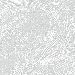 Aimée Wilder Cosmic Splash Designer Wallpaper In Color Luna soft White On Pale Grey