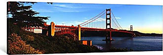 iCanvas ART 1 Piece USA, California, San Francisco, Golden Gate Bridge Canvas Print by Panoramic Images, 36 x 12/0.75 Deep