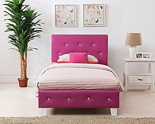 Boraam 95115 Kelsey Bed Set, Full, Pink