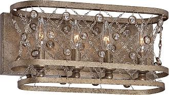 Metropolitan Vel Catena 15.75 4-Light Bath Vanity in Arcadian Gold