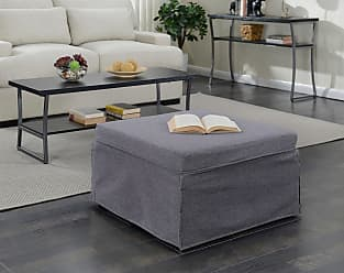 Convenience Concepts Designs4Comfort Folding Bed Ottoman (Taupe)