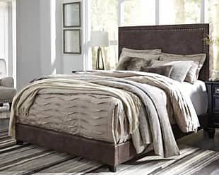 Ashley Furniture Dolante Queen Upholstered Bed, Brown