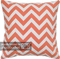 Orange//Orange 18 by 18-Inch Rizzy Home T-4072 Decorative Pillows