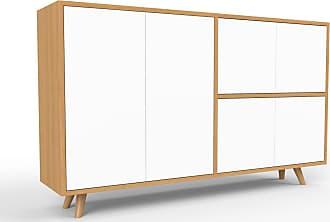 mycs sideboard eiche designer sideboard turen in weiss hochwertige materialien 152