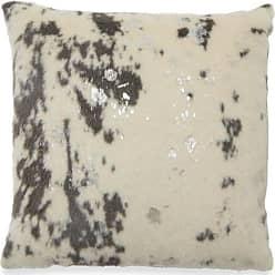 Belham Living Faux Fur Decorative Throw Pillow - Silver - TH020425002HAY