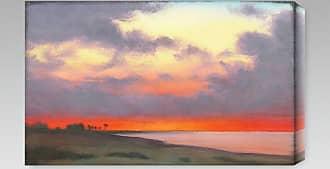 Gallery Direct Fire Sky Indoor/Outdoor Canvas Print by St. John - NE37411