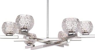 Woodbridge Lighting 18516 Jewel 6 Light 24 Wide Chandelier Chrome