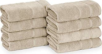 Revman International Nautica Belle Haven Hand Towel Set, 26x16, Beige
