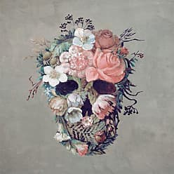Marmont Hill Blooming Rose Skull Wall Art - MH-JULBOT-21-C-18
