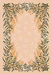 Milliken Carpet Pastiche Collection Baskerville Square Area Rug, 77 x 77, Sand
