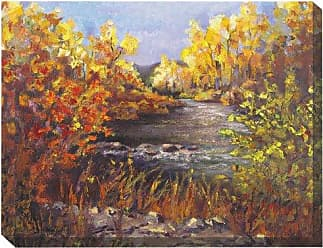 West of the Wind All-Weather Art Print, 30 by 40-Inch, River Rapture