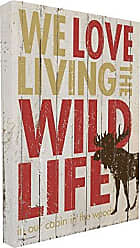 Stupell Industries Stupell Home Décor Love Living The Wild Life Stretched Canvas Wall Art, 16 x 1.5 x 20, Proudly Made in USA