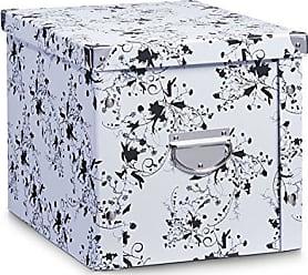 aufbewahrungsboxen in wei 151 produkte sale ab 2 99 stylight. Black Bedroom Furniture Sets. Home Design Ideas