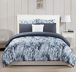 Home Makeover Collection 20 Piece Set Grey Duck River Textile Somorset Hotel Quality Luxury Comforter Duvet Insert Cover Hypoallergenic King Size
