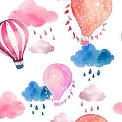 Lar Adesivos Papel de Parede Bebê Quarto Infantil Balão Balões N3971