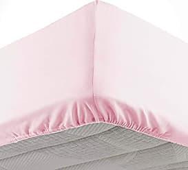 douceur dint/érieur drap plat 2 personnes 240x300 cm lina rose clair