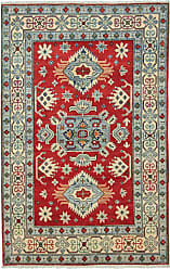 Nain Trading Oriental Kazak Rug 61x40 Dark Grey/Beige (Wool, Afghanistan, Hand-Knotted)
