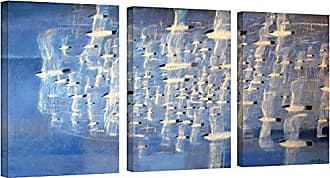 Brushstone Charlie Baird Migrate 3 Piece Gallery Wrapped Canvas Set, 24X48