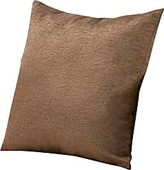 Monarch Specialties I 9276 Decorative Throw Pillow Mosaic Velvet, 18x18, Light Brown