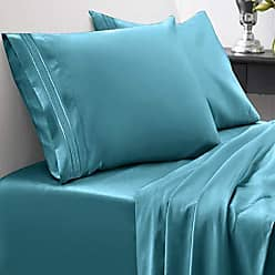 Sweet Home Collection 1800 Thread Count Bed Set Egyptian Quality Brushed Microfiber 3 Piece Deep Pocket Sheets, Twin XL, Teal