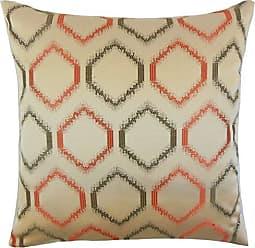 The Pillow Collection Rivka Geometric Bedding Sham Adobe Standard//20 x 26