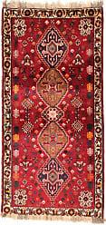 Nain Trading Ghashghai Rug 57x28 Modern/Design Runner Dark Brown/Orange (Hand-Knotted, Wool, Iran/Persia)