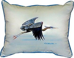 Betsy Drake SN327 Eddies Heron Pillow, 11 x14
