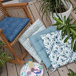Belham Living New Harbor 21 x 19 in. Outdoor Seat Pad Indigo Stripe - NEW HARBOR32