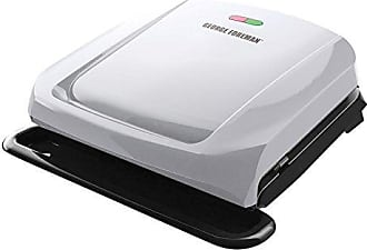 George Foreman 4-Serving Removable Plate Grill and Panini Press, Platinum, GRP1060P