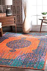 nuLOOM 200MCGZ38A Vintage Markley Area Rug 8 x 10 Orange