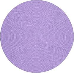 Rhody Rug Fun Braids Solid Violet 6 Round