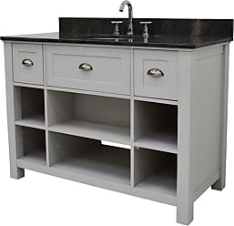 222 Fifth Provident Rectangular Single Sink Bathroom Vanity - 7045GY900A1J14