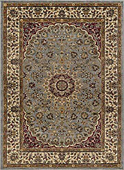Tayse Victoria Transitional Oriental Blue Rectangle Area Rug, 7.6 x 10