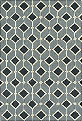 Kaleen Rugs Spaces Collection SPA05-17 Blue Hand Tufted Rug, 3 x 5