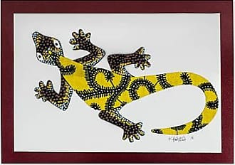 Novica Wall Gecko in Yellow