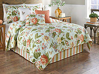 Ellery Homestyles WAVERLY Laurel Springs 3-Piece Opal Reversible Quilt Collection, Twin