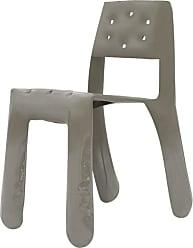 Zieta Chippensteel 0.5 Aluminum Chair In Beige Grey By Zieta