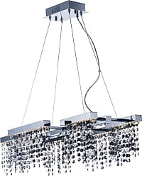 ET2 E23096-138 Midnight Shower 28 Wide LED Chandelier Polished Chrome