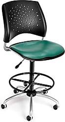 OFM 326-VAM-DK-602 Stars Swivel Vinyl Chair with Drafting Kit