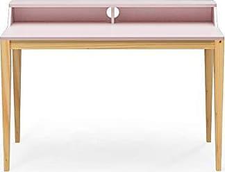 Veromobili Escrivaninha Pine 120cm Rosa Claro - Veromobili