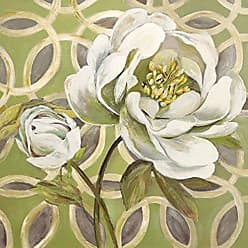 Portfolio Canvas Decor Portfolio Canvas Decor Portfolio Décor Canvas Print Wall Art-Flora Pattern II by Sandy Doonan Stretched and Wrapped, Ready to Hang-24x24, 24x24