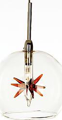 ET2 E20108 Starburst 4 1 Light Pendant Amber Stars Indoor Lighting