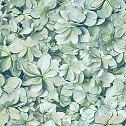 York Wallcoverings RoomMates Hydrangea Flower Peel and Stick Wallpaper