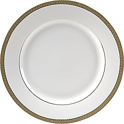 10 Strawberry Street Luxor 11.875 Charger/Buffet Plate, Set of 6, Gold