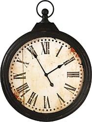 Zentique 27 in. Round Iron Wall Clock - PC011