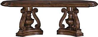 Meridian Furniture Inc Pulaski San Mateo Double Pedestal Dining Table